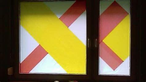 Sichtschutz Fenster Entfernen by Sichtschutz Am Fenster F 252 R Wenig Geld Seidenpapier