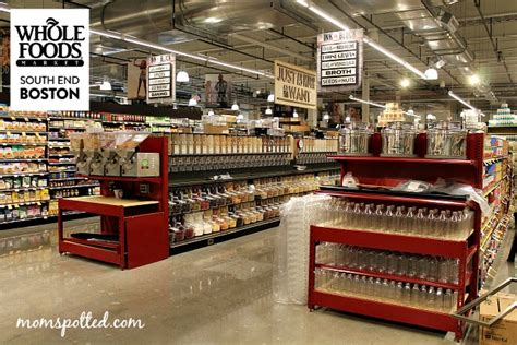 whole foods bulk section whole foods market has opened in boston s south end