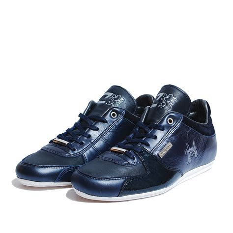 Sneakers Trainer Navy Footstep Footwear navy cruyff unidad trainers cruyff recopa classic