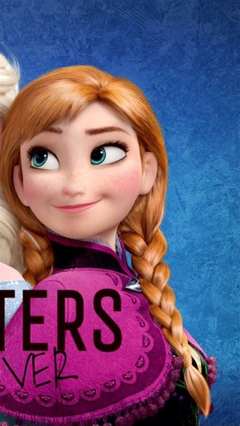 wallpaper frozen sisters sisters forever anna frozen iphone wallpaper part 2 of 2