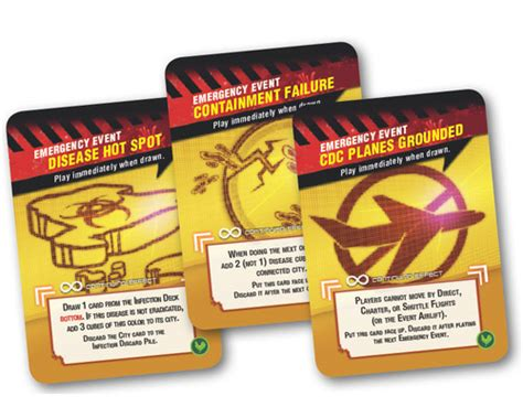 Pandemic Event Cards Template by Pandemic State Of Emergency Board Team Board