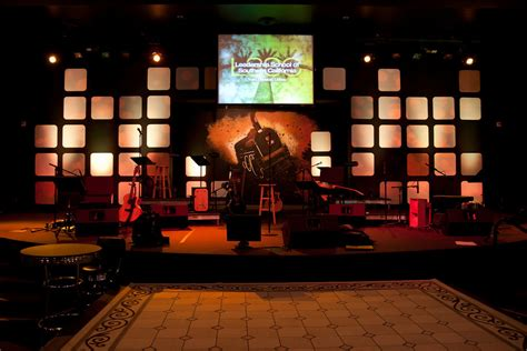 throwback the app wall church stage design ideas