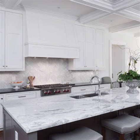 White Marble Countertop by Marble Countertops