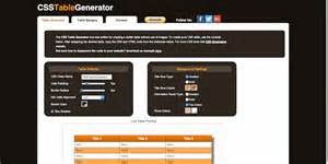 css color generator top 24 simple yet beautiful css3 table templates and