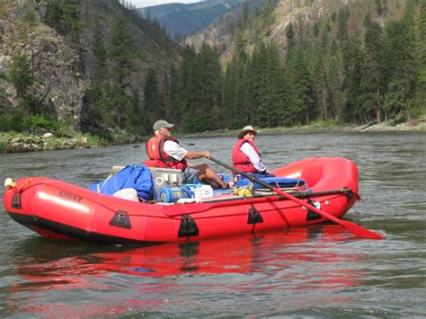drift boat oar setup rafting the west rafts