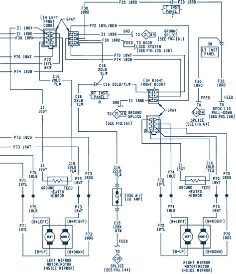 electrical wiring 1992 chrysler dynasty wiring diagram