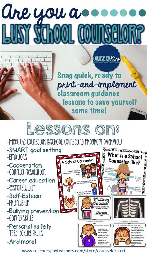 school counseling lessons 1000 ideas about guidance lessons on school