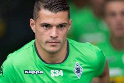 granit xhaka player profile from the stands