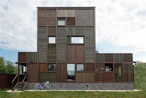 Sockel Architektur by Ein Patchworkhaus Aus Holz Sweet Home