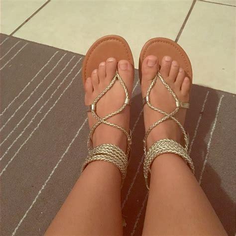 8 steve madden shoes new steve madden strappy gold sandals from valery s closet on poshmark