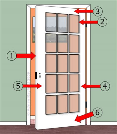 Painting Glass Panel Doors Panel Door Property Decorating