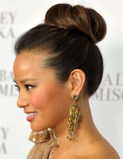 Simple Bun Hairstyles by Simple Easy High Bun Updo Formal Updos 2013 Hairstyles