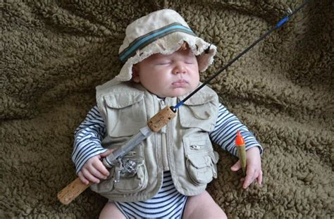 Baby Fishing baby boy fishing and your adorable l l bean pets