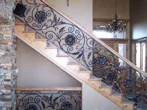Decorative Banisters by Ironman Ornamental Interior Railings Decorative Railing
