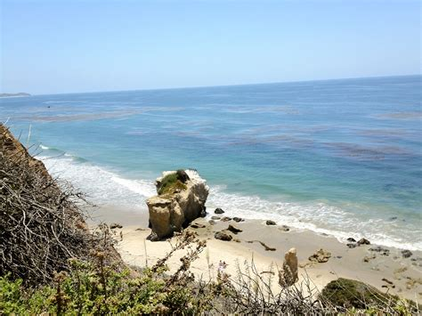 Search In California Find Sea Glass On El Matador State Malibu Find