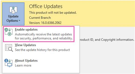 Office Updates Install Office Updates Office Support