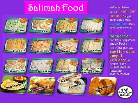 salimah food produk supplier frozen food