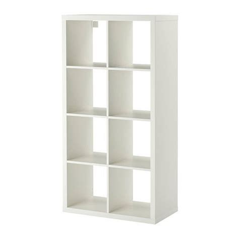 ikea shelving kallax expedit unit bookcase bookshelf white