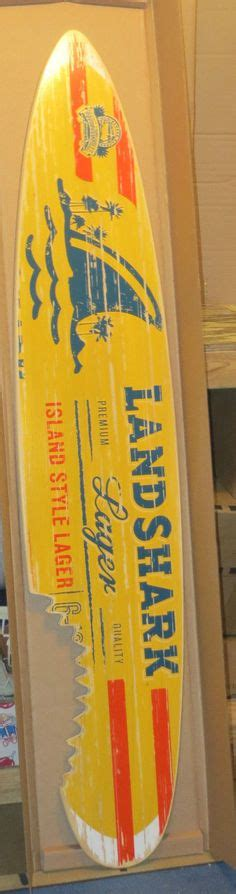 landshark surfboard bench landshark beer surfboard sign new landshark lager