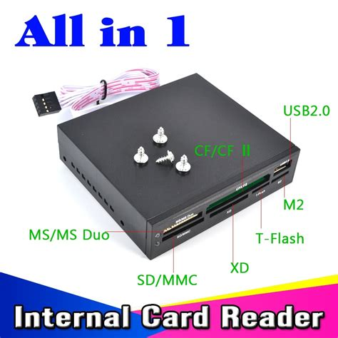 Card Reader Usb 2 0 3 0 portable all in 1 card reader usb 2 0 3 5 quot floopy
