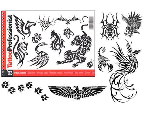 tattoo flash books canada pro tribal animal flash book 3 professionist flash