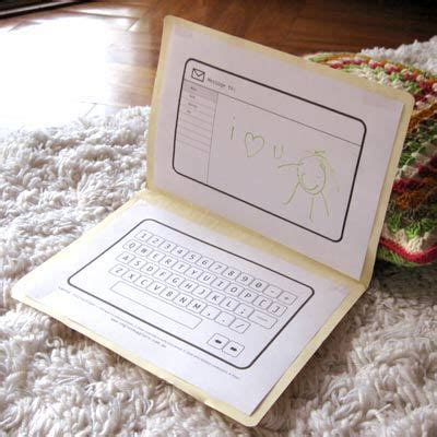 Computer Paper Crafts - 40 best images about keyboarding on best