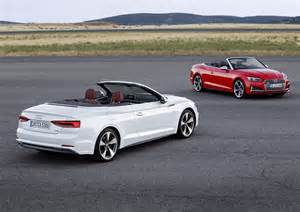 Audi Convertible A5 2017 Audi A5 Convertible Picture 694397 Car Review