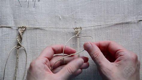 Macrame Spiral Knot - macrame steps basic knots 2 spiral knot