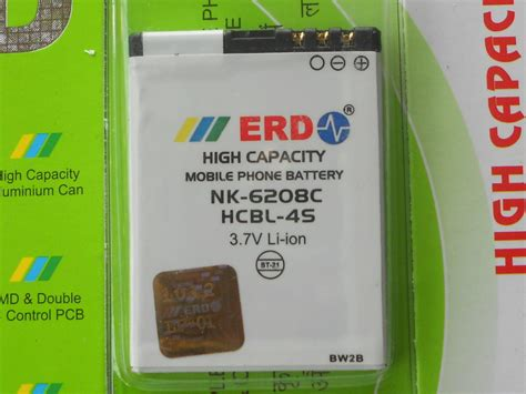 Original Nokia Battery Bl 4s Bagus 100 original erd bl 4s bl 4s bl4s battery for nokia 2680