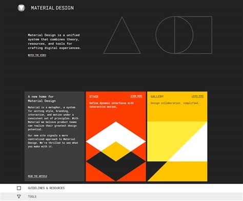website design guidelines by google how to master material design