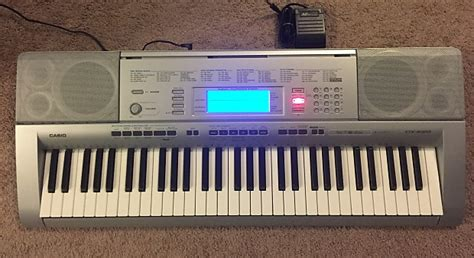 Jual Style Song Casio Ctk 4000 casio ctk 4000 keyboard with sustain pedal reverb