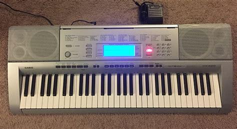 Keyboard Casio 6 Oktaf casio ctk 4000 keyboard with sustain pedal reverb