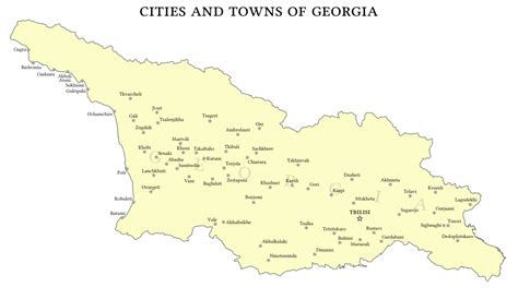 Best Towns In Georgia | best small towns in georgia