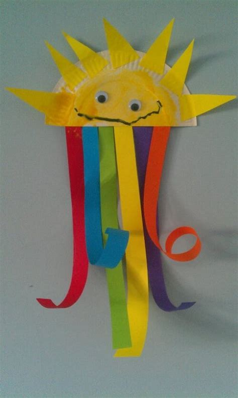 rainbow craft for may henry and kayci paper