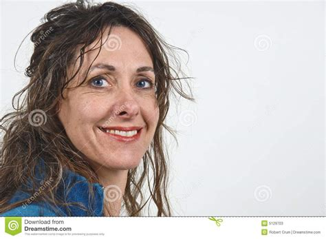 attractive middle aged hair attractive middle aged woman stock photos image 5129703