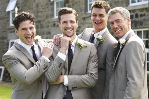 Hochzeit Trauzeuge by Groom And Groomsmen Fashion Articles Easy Weddings