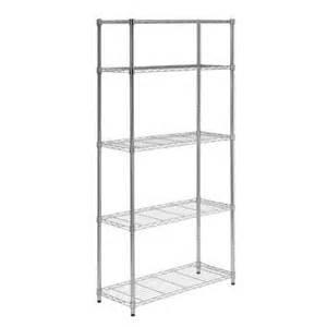 home depot storage shelves honey can do 5 shelf 36 in w x 72 in h x 14 in d steel