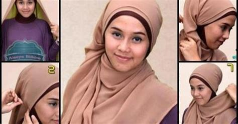 Jilbab Khimar Latifa 5 tutorial cara pakai jilbab plain shawl cara pakai jilbab