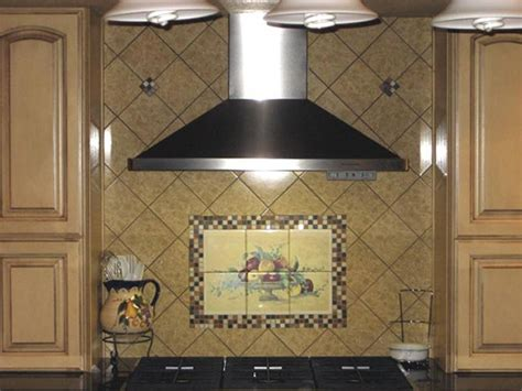 ceramic tile murals for kitchen backsplash pics photos tile mural kitchen backsplash ideas pictures