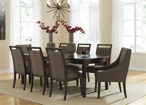 9 piece dining room set one allium way quevillon 9 piece dining set reviews
