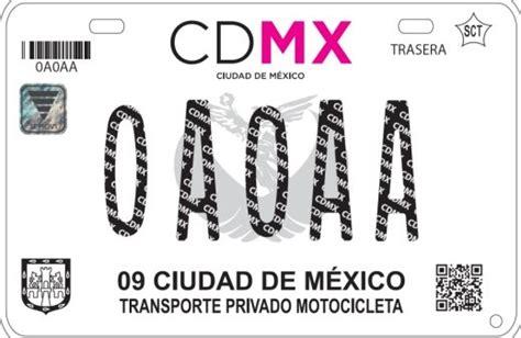 tenencias para motocicletas del estado de mexico nuevas placas para motocicletas en la ciudad de m 233 xico