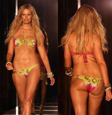 Karolina Kurkova Has Cellulite by Supermodels Gaining Weight Will Karolina Kurkova S