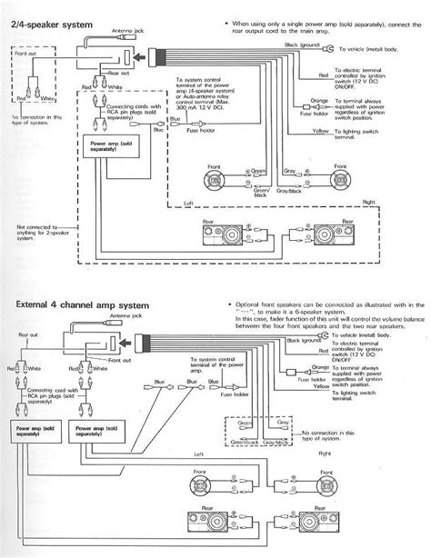 pioneer deh 1500 wiring harness 31 wiring diagram images