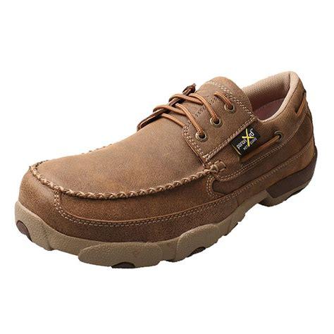 shop s twisted x bomber metguard steel toe boat shoes