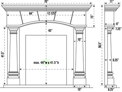 standard height for fireplace mantel mapo house and