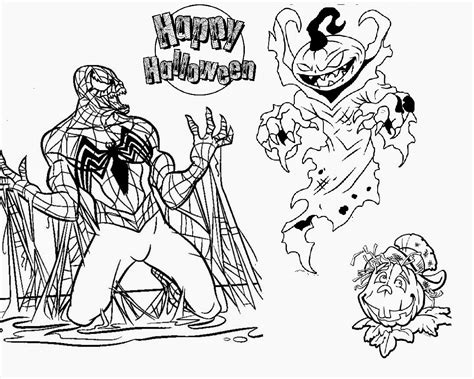 the gallery for gt creepy halloween coloring pages
