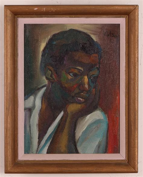 biography of jamaican artist osmond watson osmond watson jamaican portrait georgie
