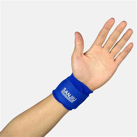 Murah Oem Assured Adjustable Wrist Support adjustable wrist support soft breathable sports safety sport wristband wrist wrap bandage