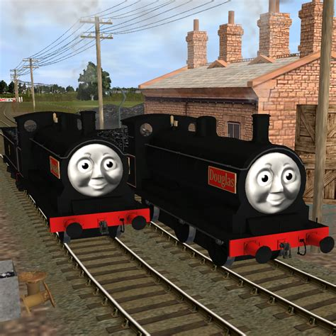 Douglas And Friends the tank engine donald and douglas www imgkid