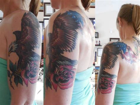 chalice tattoo boise eagle and flag i wanted a patriotic